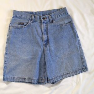 Vintage Riders by Lee High Waist Jean Shorts 12